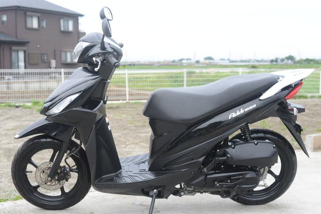 CE47A スズキ アドレス110 ブラック 高年式!