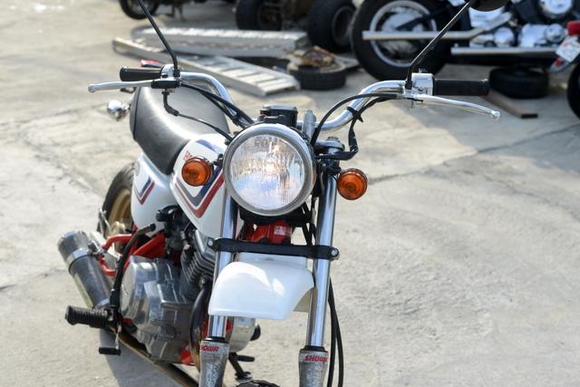 AC16 ホンダエイプ50 社外マフラー 綺麗!