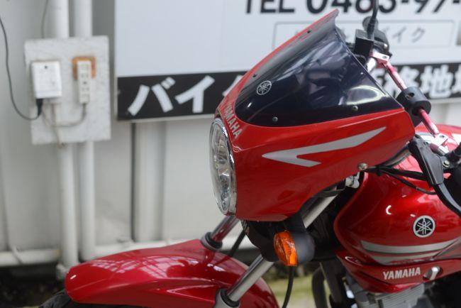 ヤマハYBR125