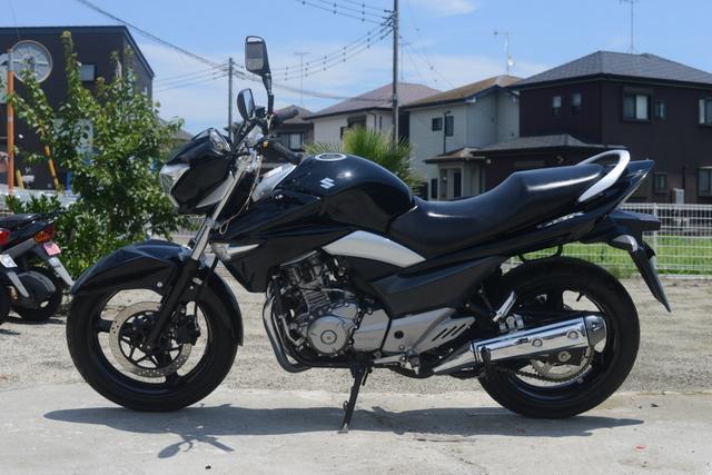 GJ55 スズキ GSR250 ブラック ノーマル