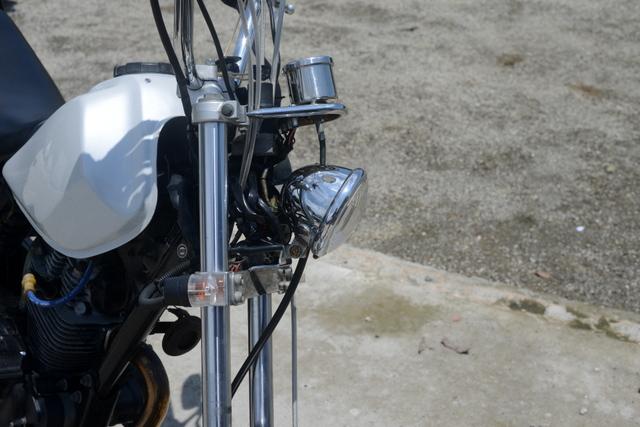 2JL ヤマハ TW200 ホワイト フルカスタム
