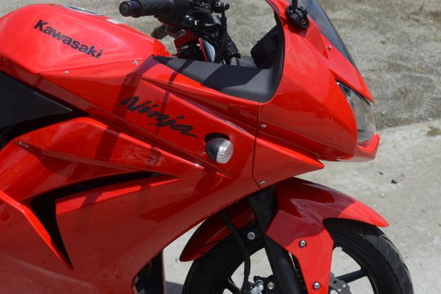 EX250K カワサキ ニンジャ250R レッド ノーマル