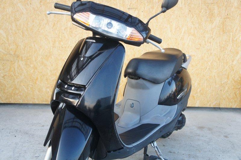 ホンダ リード100 マフラー社外 ブラック