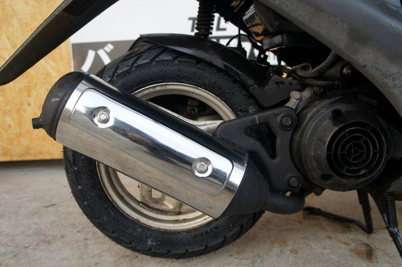 ホンダ ライブディオZX仕様 AF35型 ブラック タイヤ前後新品