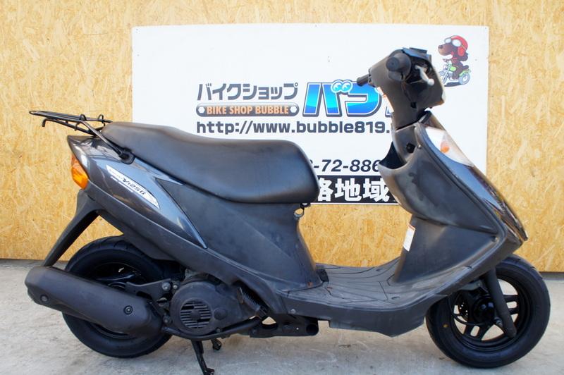 スズキ アドレスV125  ガンメタ