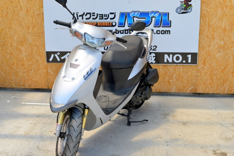 スズキ ZZ CA1PB ジーツー シルバー