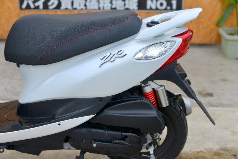 ジョグ SA39J ホワイト