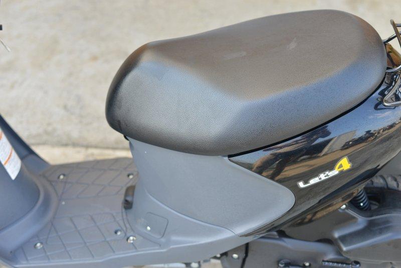 スズキ レッツ4 CA45A型インジェクション ブラック