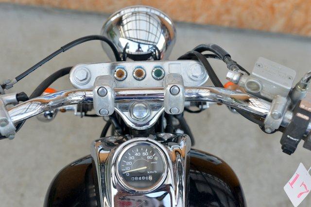 ホンダ マグナ50 きれいなブラック AC13型 セル付き