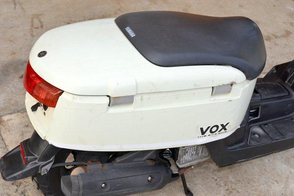 ヤマハ ボックスVOX ホワイト 格安車両