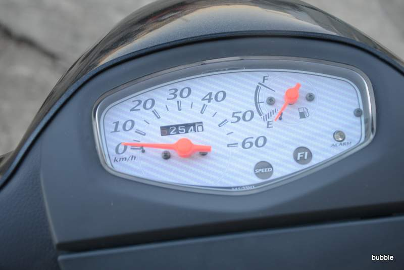 スズキ レッツ5 インジェクション ガンメタ 0225