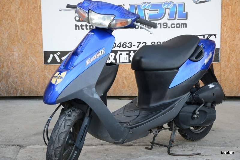 スズキ レッツ2 CA1PA型 ブルー 0225