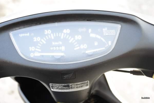 ホンダ ディオ AF34型 格安シルバー 0311