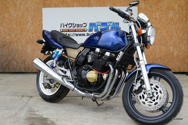 ヤマハ XJR400 4HM ブルーメタ