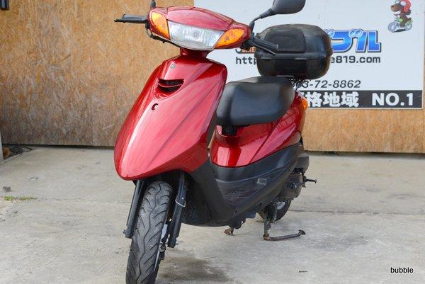 ヤマハ ジョグSA36JレッドBOX付 0424