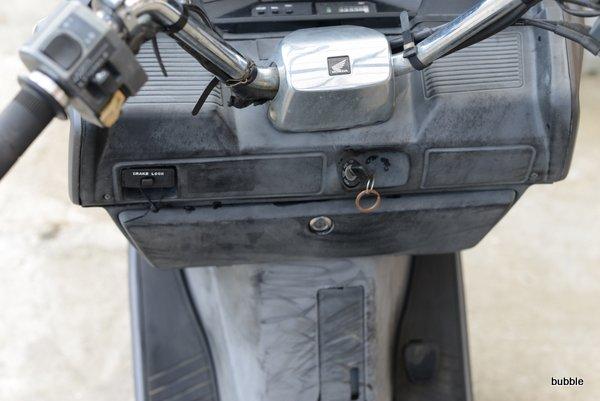 ホンダ フュージョンMF02 マットブラック社外マフラー