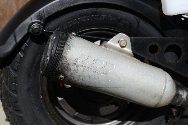 ホンダ ズーマー スーパートラップマフラー タイヤ新 1026