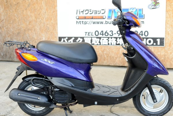 ヤマハ JOG SA36J インジェクションRタイヤ新 パープル 1125